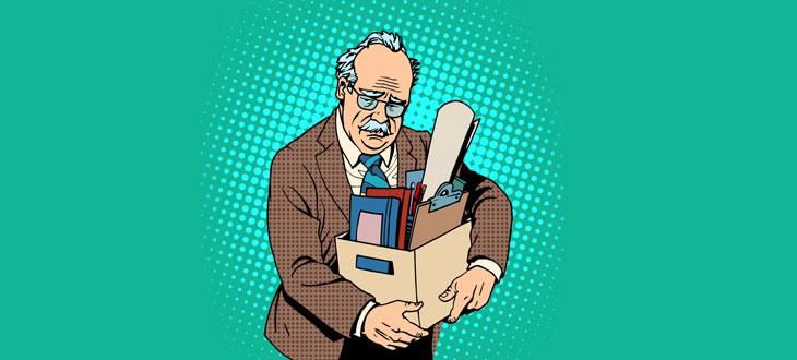 Как пенсионеру уволиться без отработки одним днем