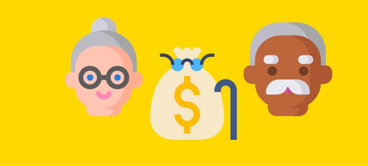 Индексация пенсий неработающим пенсионерам в 2020 году 👵